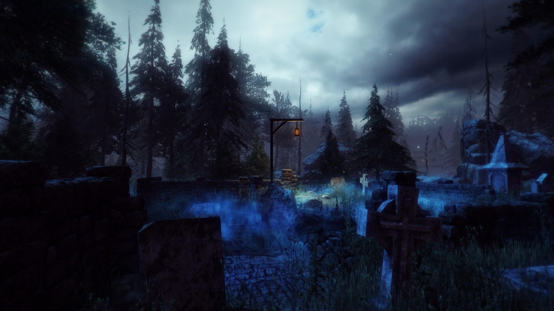 Первая локация в игре Castle Height. Отсюда мы начинаем свой путь.