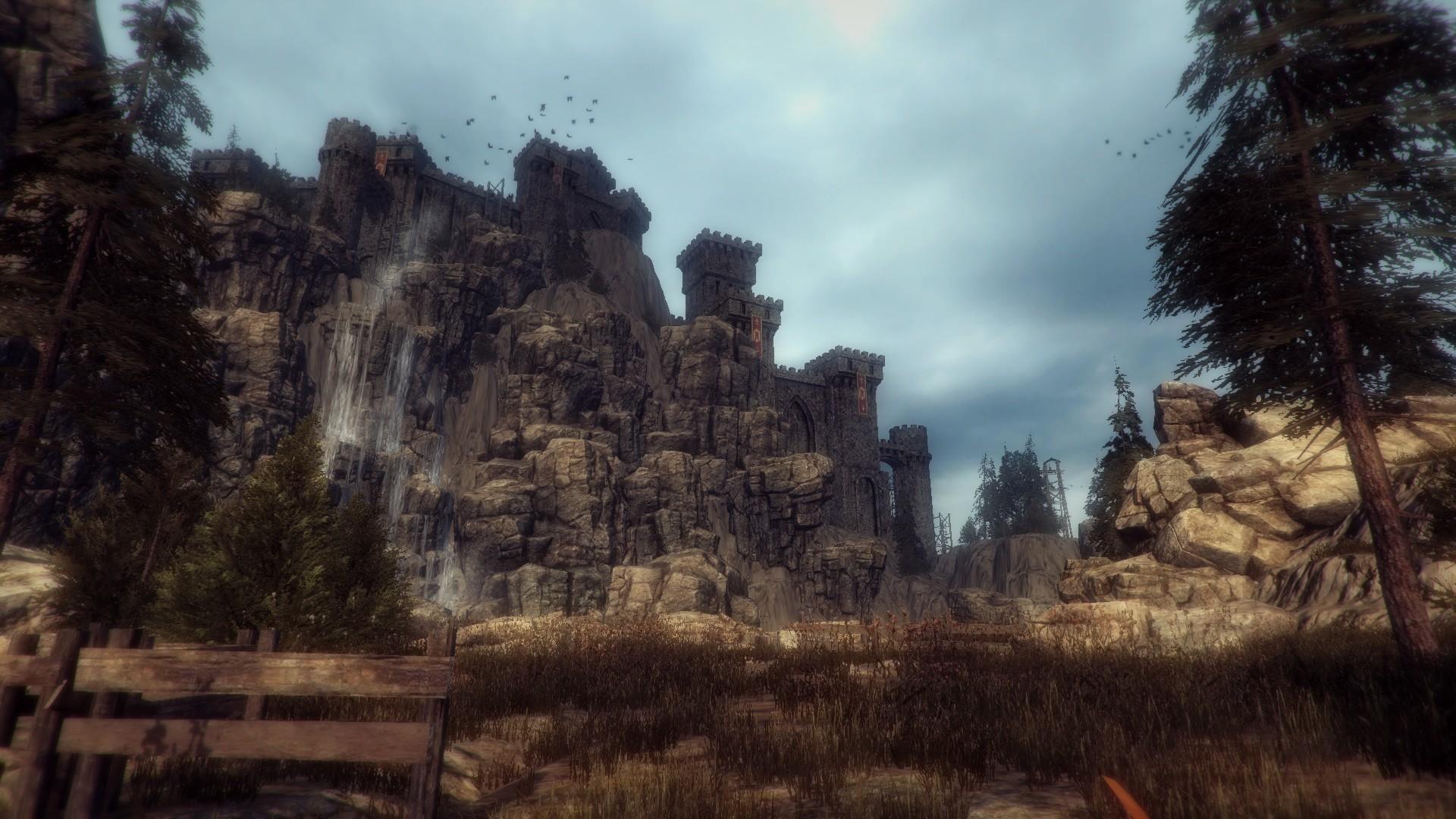 Замок Алхимика во всем своем великолепии.