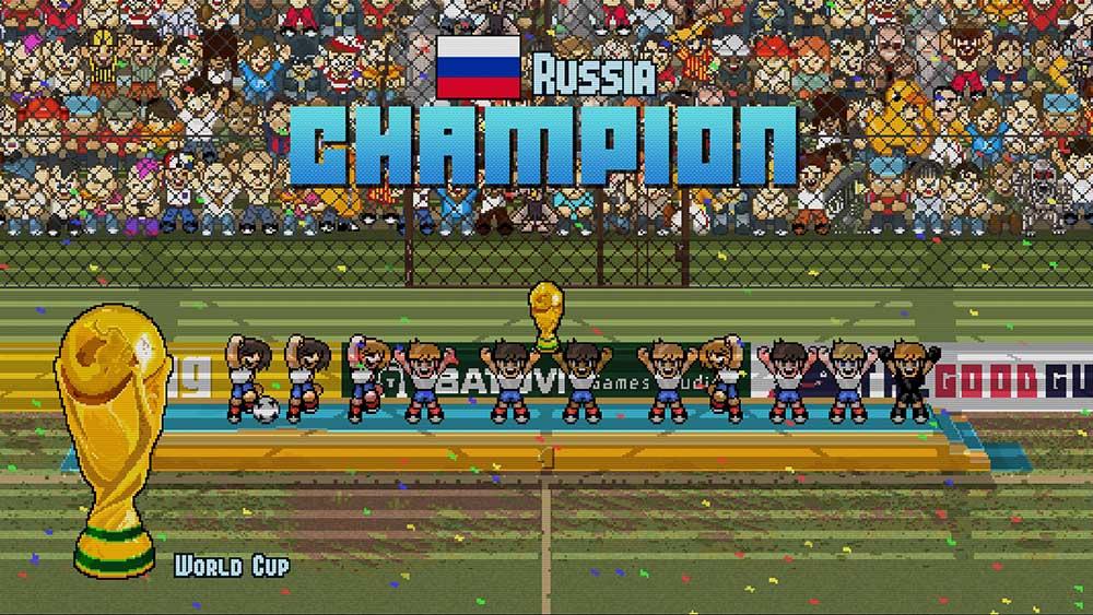 Сборная России по футболу - чемпионы мира. Где еще такое будет?
